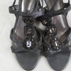 Nine West Heels Sandals  Almost New!! 8 M